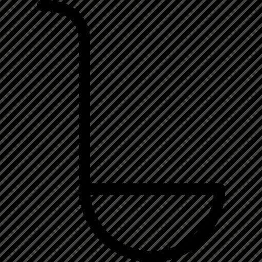 batter, kitchen utensils, scoop, spoon, webshop icon