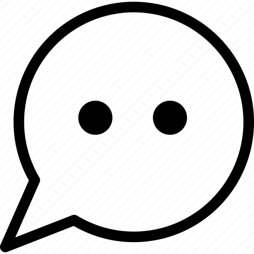 android, communication, conversation, speech balloon icon