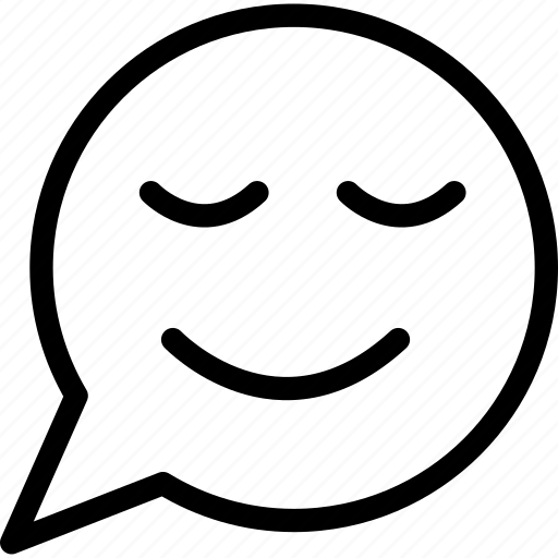 communication, smiling, speech balloon, talk icon