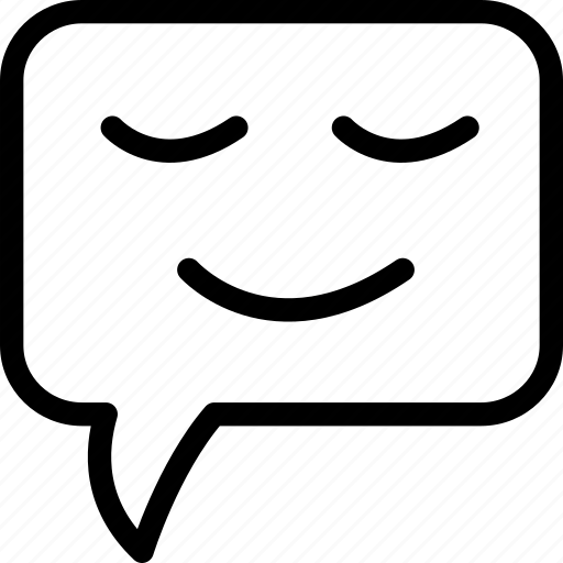 chat, communication, love, smiling icon