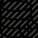 add, create, database, new