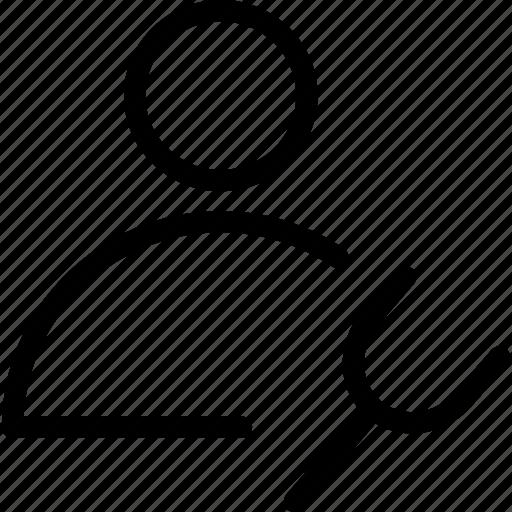 account settings, profile, settings, web and mobile ui icon