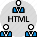 development, onilne, technology, web icon