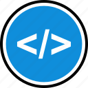 bracket, brackets, development, onilne, technology, web icon