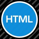 development, html, onilne, script, technology, web icon
