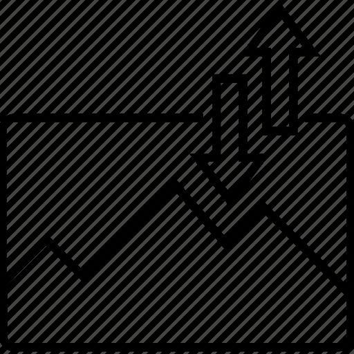 arrows, data transfer, image, image transfer, sending icon
