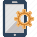 device, maintenance, mobile, settings icon