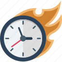clock, deadline, efficiency, estimate icon