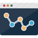 analytics, graph, monitoring, productivity icon