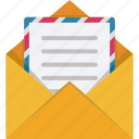 email, envelope, feed, letter icon