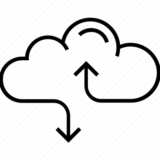cloud, cloud computing, cloud links, data, data cloud icon