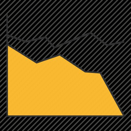chart, diagram, monitoring, plot, schedule, scheme, traffic icon