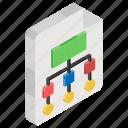 algorithm, flow diagram, flowchart, hierarchy, information architecture, scheme, sitemap icon