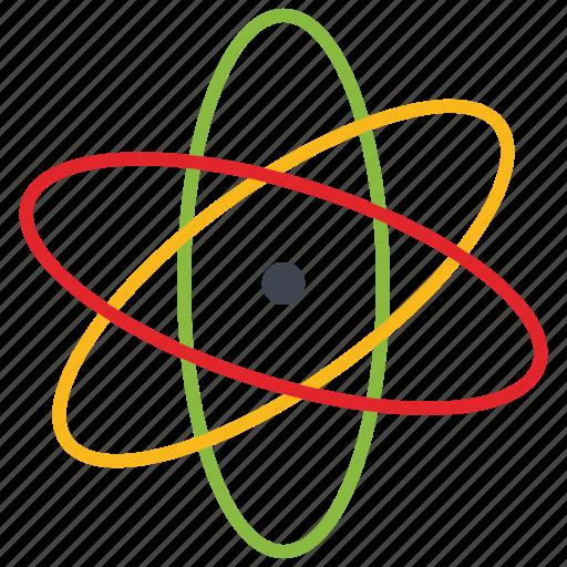 atom, nuclear, technology, web icon