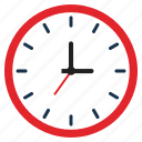 clock, technology, web icon