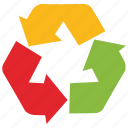 recycle, technology, web icon