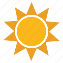 sun, technology, web icon