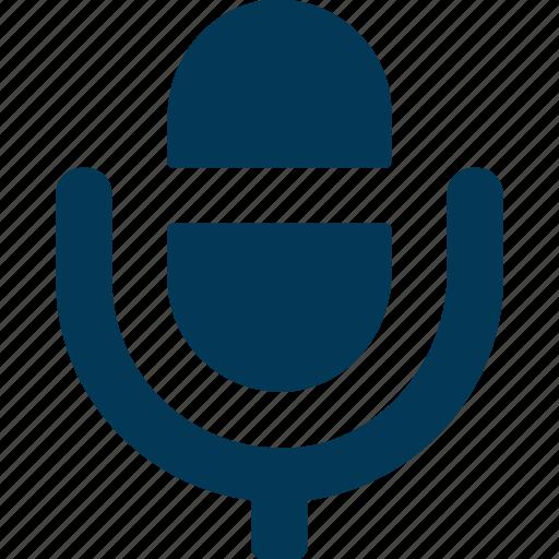audio, mic, microphone, recording, speech icon