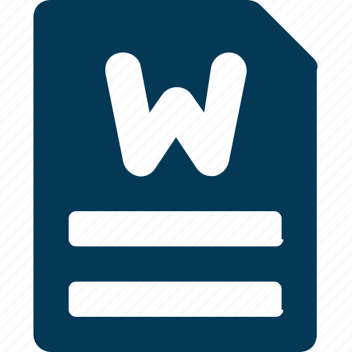 computer programme, microsoft, microsoft word, ms, word document icon