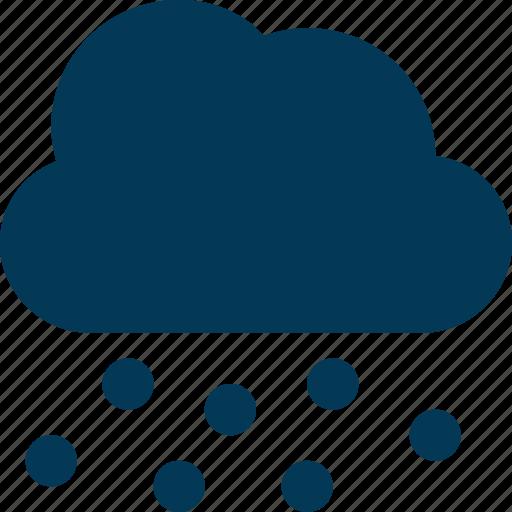 cloud, rain drops, raining, sky, weather icon