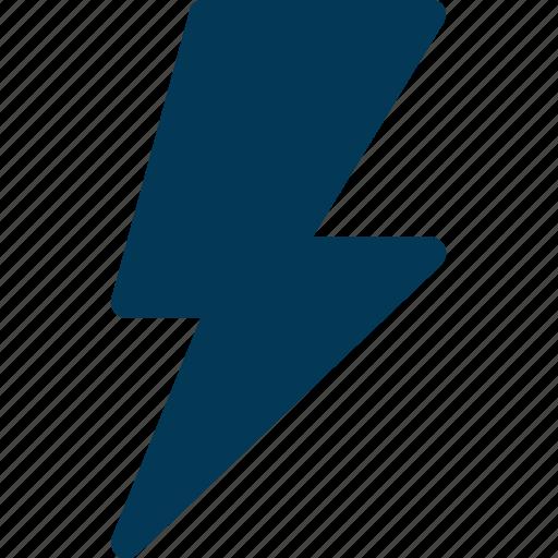 bolt, lightning, power, thunder, thunderbolt icon