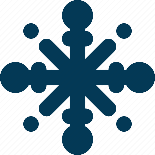 christmas, ornament, snow, snowflake, winter icon