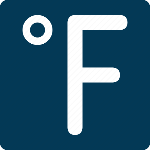 fahrenheit, meteorology, temperature, temperature degree, thermometer icon