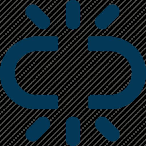 Broken chain, broken connection, hyperlink, interlink, link break icon - Download on Iconfinder
