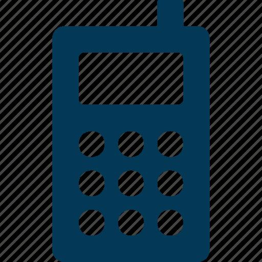 Cordless phone, intercom, police radio, transceiver, walkie talkie icon - Download on Iconfinder