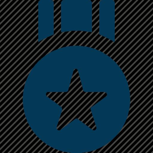 First position, medal, position medal, prize, reward icon - Download on Iconfinder