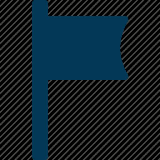 Banner, flag, location flag, point flag, waving flag icon - Download on Iconfinder