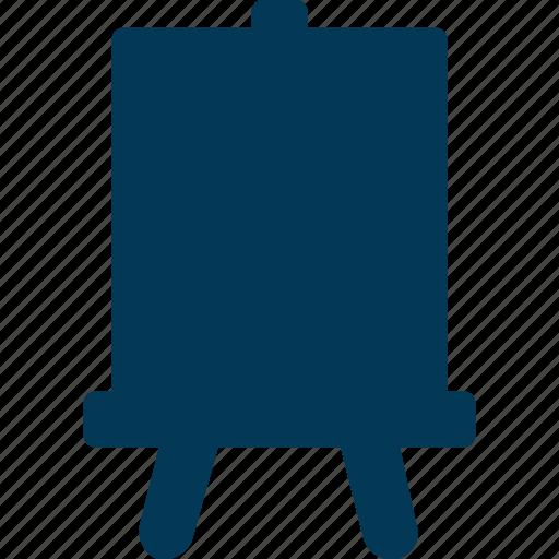 Art, artboard, canvas, easel board, flipchart icon - Download on Iconfinder