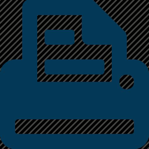 Copy machine, facsimile, facsimile machine, fax machine, printer icon - Download on Iconfinder