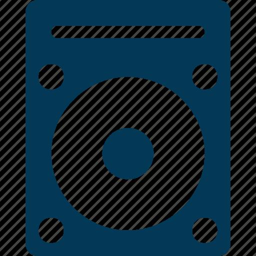 Music system, speaker, speaker box, subwoofer, woofer icon - Download on Iconfinder