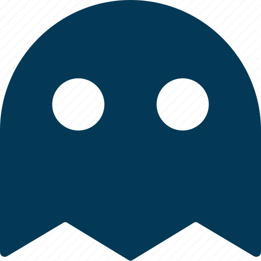cartoon, game ghost, ghost, pacman, video game icon