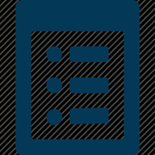 Agenda, checklist, plan list, schedule, to do icon - Download on Iconfinder
