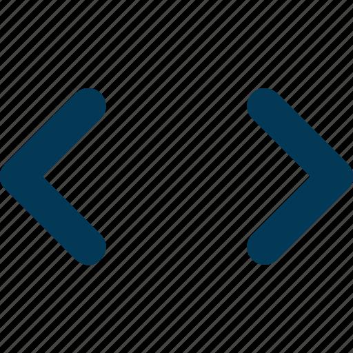 Arrow, bracket, code, script, tag icon - Download on Iconfinder