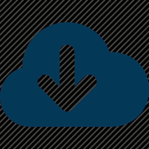 Cloud computing, cloud data, cloud download, cloud storage, computing icon - Download on Iconfinder