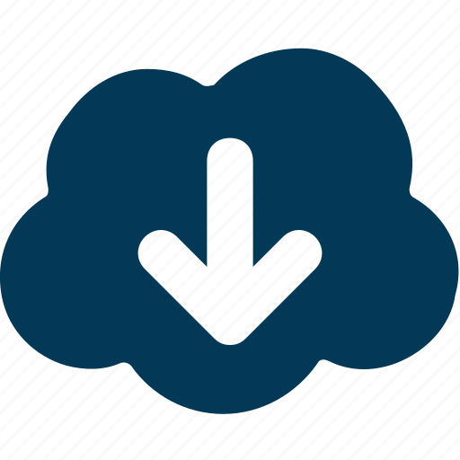 cloud computing, cloud data, cloud download, cloud storage, computing icon