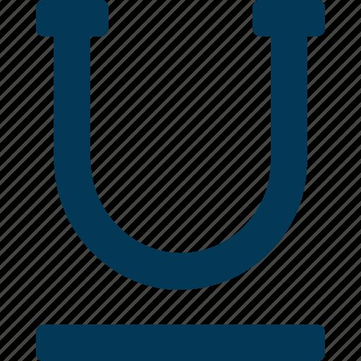 Alphabet, edit, letter u, text, underline icon - Download on Iconfinder