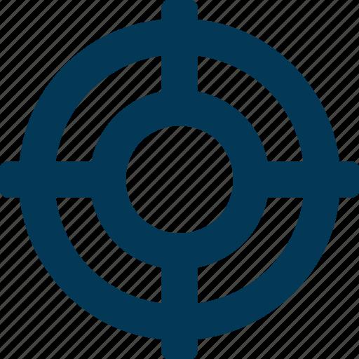 Bullseye, circle, dartboard, shape, target icon - Download on Iconfinder