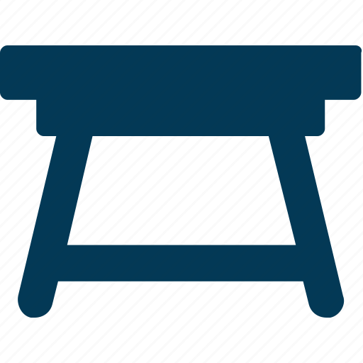 Furniture, iron desk, iron stand, iron table, table icon - Download on Iconfinder