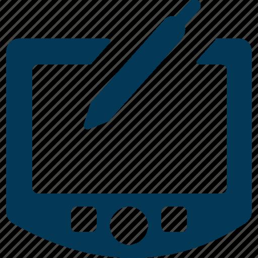 Art board, digitizer, drawing tablet, graphic tablet, pen tablet icon - Download on Iconfinder