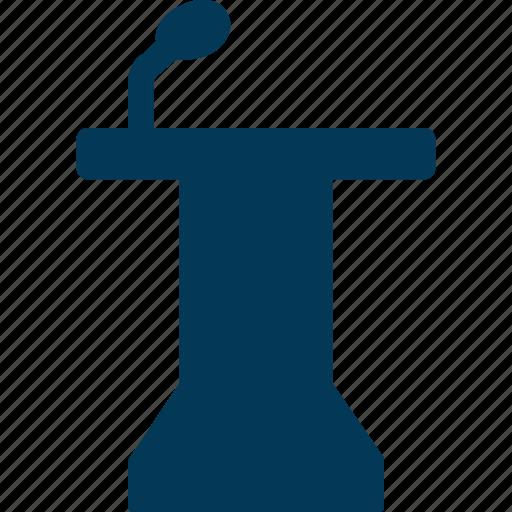 Conference, podia, podium, presentation, rostrum icon - Download on Iconfinder