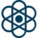 atom, atom bond, electron, molecular, science icon