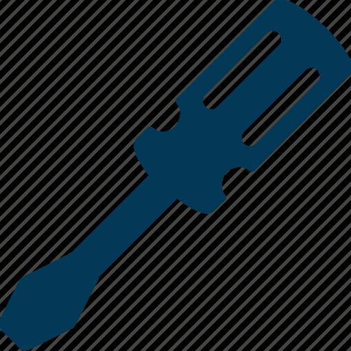 garage tool, hand tool, repair tool, screwdriver, turnscrew icon