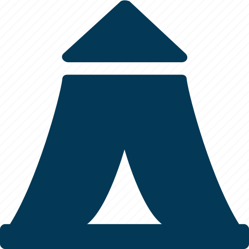 Beach tent, camping, teepee, tent, tent house icon - Download on Iconfinder