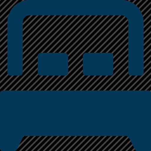 Bed, bedroom, furniture, rest, sleep icon - Download on Iconfinder