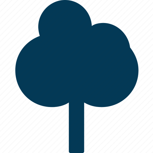 forest, greenness, nature, shrub tree, tree icon