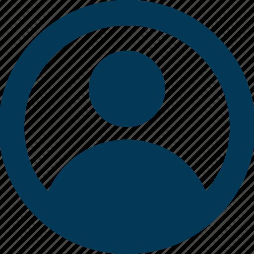 avatar, person, profile, user, user accout icon
